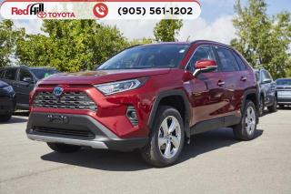 New 2021 Toyota RAV4 HYBRID LIMITED AWD for sale in Hamilton, ON