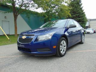 Used 2013 Chevrolet Cruze *******FINANCEMENT MAISON DISPONIBLE**** for sale in St-Eustache, QC