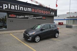 Used 2019 Chevrolet Spark 1LT CVT NO ACCIDENTS OR CLAIMS!! BACKUP CAMERA!! BLUETOOTH!! for sale in Saskatoon, SK