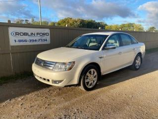 Used 2009 Ford Taurus LIMITED for sale in Roblin, MB