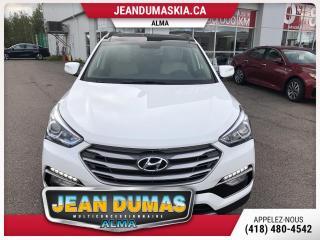 Used 2017 Hyundai Santa Fe Sport MODÈLE LUXURY MOTEUR 2.4 LITRES TOIT PAN for sale in Alma, QC