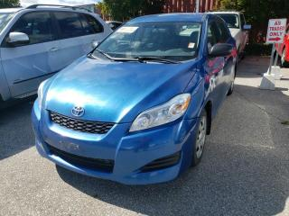Used 2010 Toyota Matrix 1.8L for sale in Barrie, ON