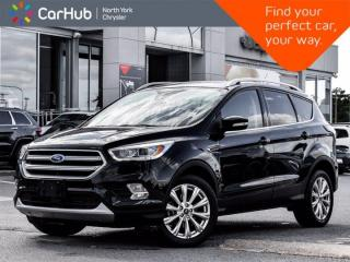 Used 2017 Ford Escape Titanium 4WD Panoramic Roof Sony Audio Navigation for sale in Thornhill, ON