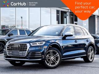 Used 2018 Audi SQ5 Progressiv Quattro Heated and Vented Front Seats Navigation for sale in Thornhill, ON