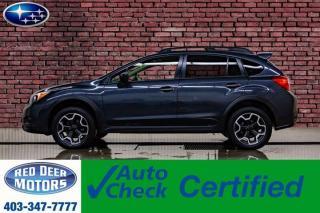 Used 2015 Subaru XV Crosstrek AWD VX Premium Roof BCam for sale in Red Deer, AB