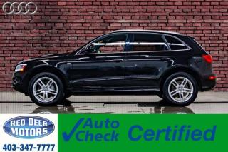 Used 2017 Audi Q5 Quattro Progressiv S-Line Leather Roof Nav BCam for sale in Red Deer, AB