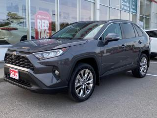 Used 2019 Toyota RAV4 XLE PREMIUM-LEATHER+19 INCH ALLOYS+MORE! for sale in Cobourg, ON