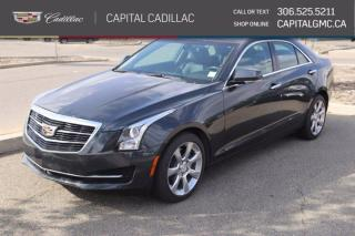 Used 2016 Cadillac ATS Sedan Luxury Collection AWD*LEATHER*SUNROOF*NAV* for sale in Regina, SK