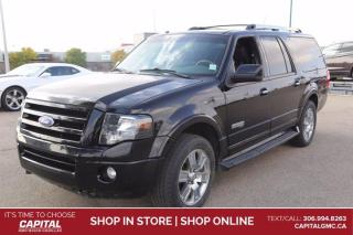 Used 2007 Ford Expedition Max Limited 4WD*LEATHER*SUNROOF* for sale in Regina, SK