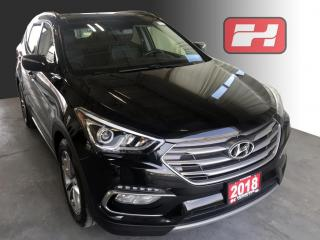 Used 2018 Hyundai Santa Fe Sport 2.0T Limited AWD | Navigation | Panoramic Sunroof | Leather Seats for sale in Stratford, ON