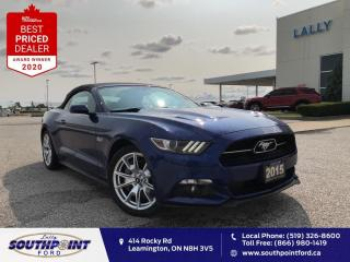 Used 2015 Ford Mustang GT Premium|Leather|HTD&Cooled seats|5.0L V8| for sale in Leamington, ON