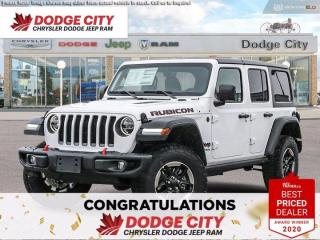 New 2021 Jeep Wrangler RUBICON for sale in Saskatoon, SK