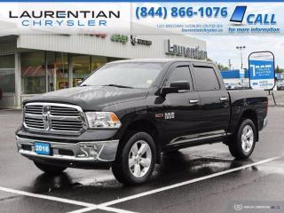 Used 2016 RAM 1500 SLT!!  CREW CAB!!  4X4!!  BACKUP CAMERA!! for sale in Sudbury, ON