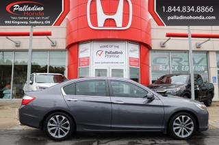 Used 2015 Honda Accord Sedan SPORT-CLEAN-UNDER 100K KM for sale in Sudbury, ON