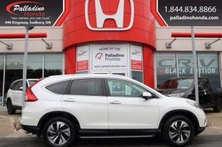 Used 2016 Honda CR-V Touring for sale in Sudbury, ON