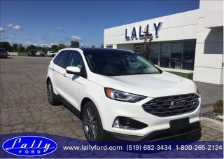 New 2020 Ford Edge Titanium for sale in Tilbury, ON