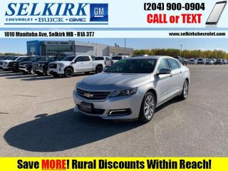Used 2019 Chevrolet Impala LT  *SUNROOF, HTD LEATHER* for sale in Selkirk, MB