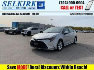 Used 2020 Toyota Corolla LE Upgrade Package  *SUNROOF, HTD SEATS* for sale in Selkirk, MB