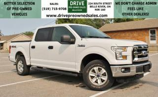 Used 2015 Ford F-150 XLT Low K's 4x4 Bluetooth SYNC Six Seats for sale in Belle River, ON