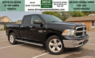 Used 2013 RAM 1500 SLT Low K's Hemi 4x4 Six Seats Cruise Control for sale in Belle River, ON