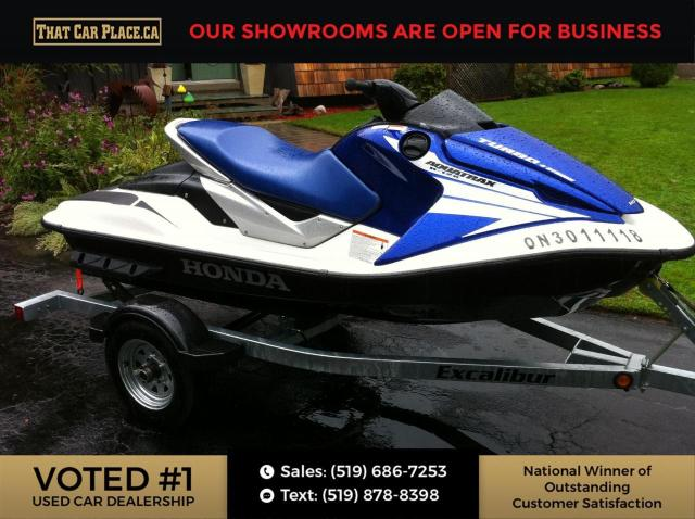 2005 Honda AquaTrax F-12  -W/ TRAILER Fuel Injected Turbo Low Hours- Babied since new