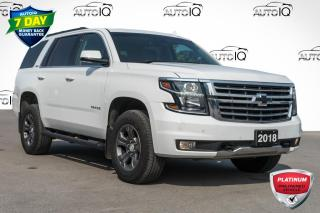 Used 2018 Chevrolet Tahoe LT LEATHER|4WD|LANE KEEP ASSIST for sale in Innisfil, ON