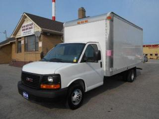 Used 2014 GMC Savana 3500HD 16Ft Multi Van Cube Cargo Ramp ONLY 59,000K for sale in Etobicoke, ON