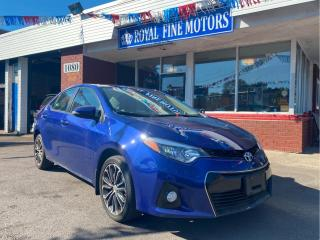 Used 2016 Toyota Corolla 4dr Sdn CVT S for sale in Toronto, ON