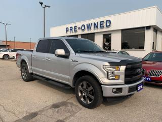 Used 2016 Ford F-150 Lariat for sale in Brantford, ON