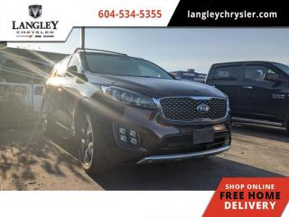 Used 2016 Kia Sorento 2.0L Turbo SX  Navi / Backup / AWD / Pano-Sunroof for sale in Surrey, BC