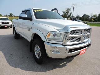 Used 2013 RAM 2500 Laramie Diesel 4X4 Leather Loaded for sale in Gorrie, ON