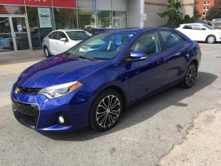 Used 2016 Toyota Corolla ** S ** BAS KM ** for sale in Longueuil, QC