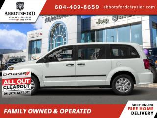 New 2020 Dodge Grand Caravan SXT  - Navigation - $228 B/W for sale in Abbotsford, BC