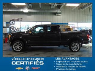 Used 2015 Ford F-150 4WD LARIAT for sale in Amos, QC