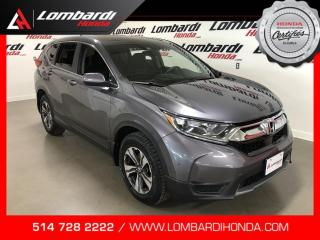 Used 2018 Honda CR-V LX AWD|ASSI.ROUT.06/24/2021| for sale in Montréal, QC