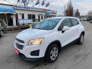 Used 2016 Chevrolet Trax LS-ACCIDENT FREE-WE FINANCE for sale in Stoney Creek, ON