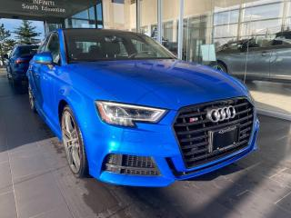 Used 2017 Audi S3 2.0T Technik AWD, SUNROOF, POWER HEATED LEATHER SEATS, NAVI for sale in Edmonton, AB