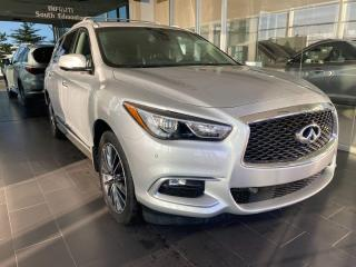 Used 2016 Infiniti QX60 AWD, ACCIDENT FREE, ONE OWNER, SUNROOF, DVD SYSTEM, NAVI for sale in Edmonton, AB