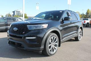 New 2020 Ford Explorer ST 400A, 4WD, 3.0L Ecoboost, Power Heated/Cooled Seats, Heated Steering Wheel, Forward and Reverse Sensing System, Lane Keeping System, Pre-Collision Assist, Remote Keyless Entry, Remote Vehicle Start for sale in Edmonton, AB