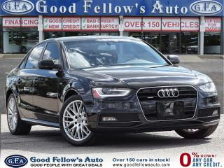 Used 2016 Audi A4 KOMFORT PLUS, AWD, SUNROOF, LEATHER & POWER SEATS for sale in Toronto, ON