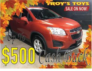 Used 2014 Chevrolet Trax LT for sale in Guelph, ON