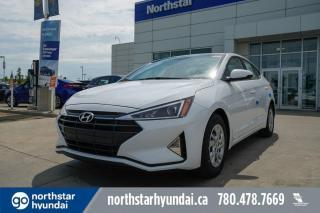 New 2020 Hyundai Elantra ESSENTIAL-APPLE CARPLAY/BACKUPCAM/HEATED SEATS/BLUETOOTH for sale in Edmonton, AB