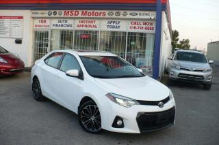 Used 2016 Toyota Corolla S ONE OWNER ACCIDENT FREE for sale in Toronto, ON