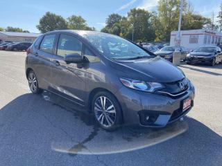 Used 2015 Honda Fit EX-L Navi Hatchback for sale in Brantford, ON