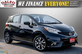 Used 2015 Nissan Versa Note BUCKET SEATS / BACK UP CAR / USB INPUT / for sale in Hamilton, ON