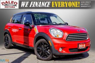 Used 2014 MINI Cooper Countryman LEATHER / HEATED SEATS / PANO ROOF / KEYLESS GO / for sale in Hamilton, ON