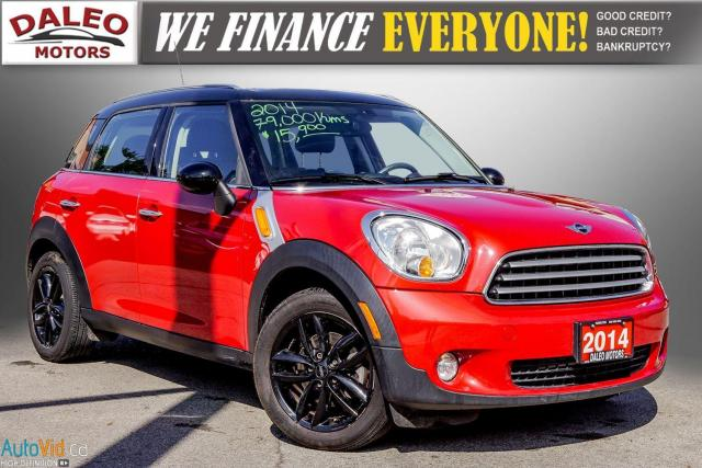 2014 MINI Cooper Countryman LEATHER / HEATED SEATS / PANO ROOF / KEYLESS GO /