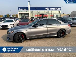 Used 2016 Mercedes-Benz C-Class AMG C63S/FULL 3M PACKAGE! RARE COLOR COMBO for sale in Edmonton, AB