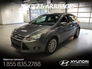 Used 2012 Ford Focus TITANIUM + GARANTIE + A/C + CRUISE + MAG for sale in Drummondville, QC