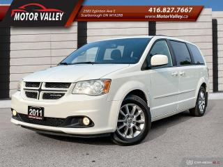Used 2011 Dodge Grand Caravan R/T NAVIGATION - DVD - LEATHER Loaded! for sale in Scarborough, ON